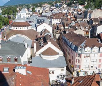 Die Stadt Evian