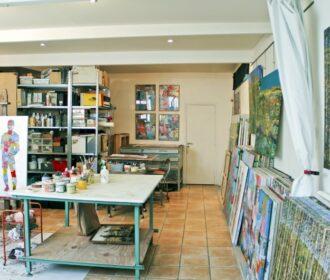Galerien, kunstateliers